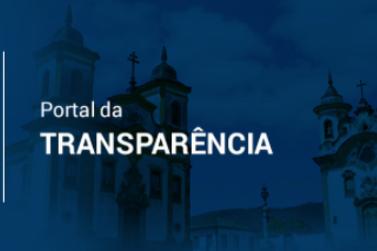 Se mantenha informado pelo Portal da Transparência de Mariana