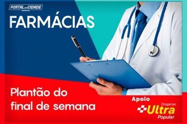 Confira o horário de funcionamento das farmácias neste sábado e domingo