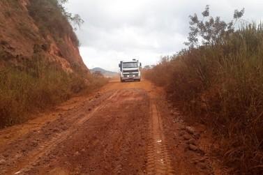 Estradas que dão acesso ao distrito de Cláudio Manuel passam por intervenções