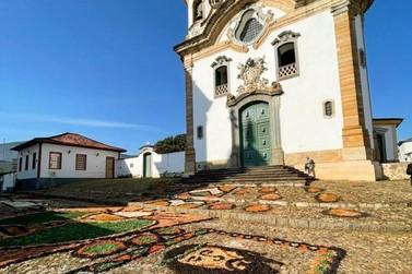 Feriado de Corpus Christi foi celebrado em Mariana de forma adaptada