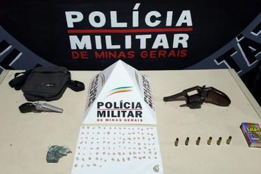 Polícia Militar apreende adolescente com duas armas de fogo em Mariana