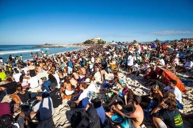 Etapa do Mundial de Surf em Saquarema é adiada