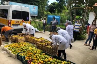 Maricá distribui cestas de hortifruti para famílias em vulnerabilidade
