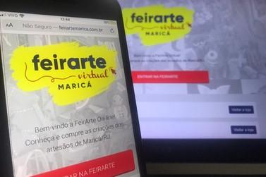 Artesãos da Feirarte Maricá vendem seus trabalhos na Internet
