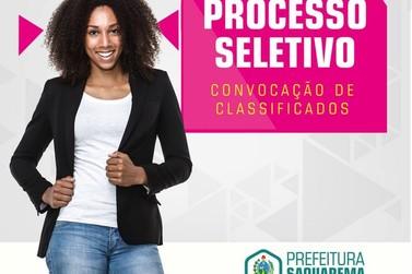 Prefeitura de Saquarema convoca aprovados em seleção