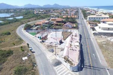 Grande área de lazer será entregue em Guaratiba