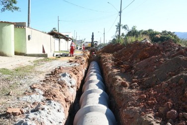 Jaconé recebe obras de pavimentação e drenagem