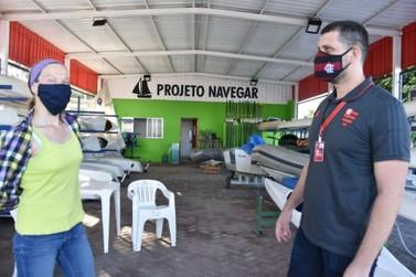 Maricá recebe visita do Clube de Regatas Flamengo para implementar parceria