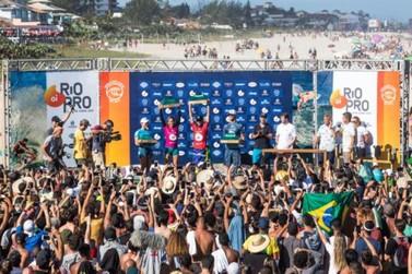 Mundial de Surf retornará a Saquarema em 2021