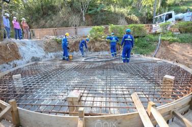 Novo reservatório de água está sendo construído em Sampaio Corrêa