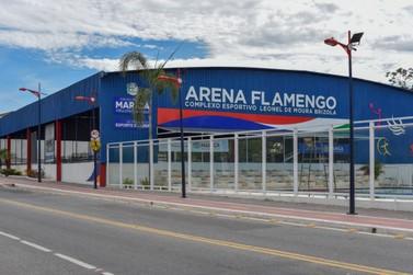 Arena Flamengo recebe iluminação especial nesta terça-feira (01)