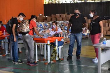 Maricá distribuiu milhares de kits limpeza no período da pandemia da Covid-19