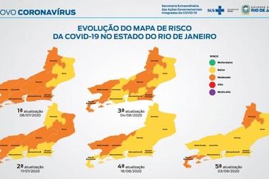 Estudo sugere nível baixo de contágio da Covid-19 na maioria das regiões do RJ