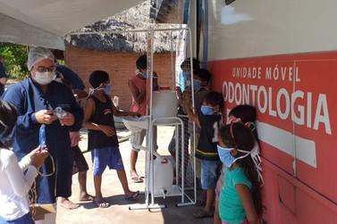 Odontomóvel está atendendo em vários bairros de Maricá