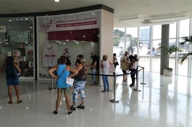 A Secretaria de Saúde de São Gonçalo iniciou hoje mutirão de mamografia