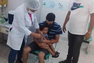 Dia D imuniza cerca de 15 mil crianças neste sabado em São Gonçalo