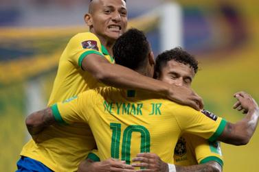 Seleção brasileira goleia Bolívia na estreia das Eliminatórias