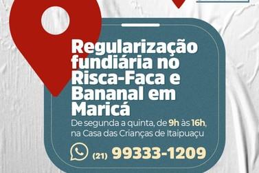 Maricá promove ação de regularização fundiária em comunidades