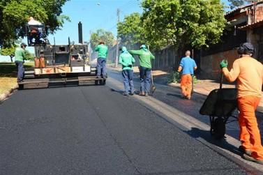 Liberado mais de R$ 1 milhão para obras de recapeamento