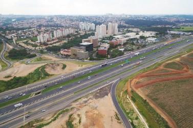 Pistas expressas da D. Pedro I, em Campinas, ficarão fechadas até o fim do ano