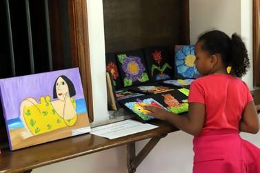 Estação Educação recebe exposição com telas do Projeto Ser