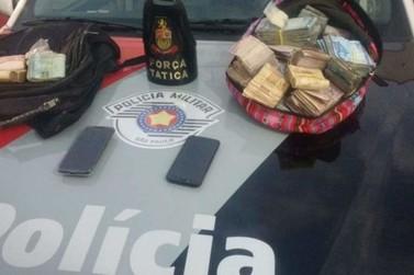 Força Tática recupera quase R$ 57 mil roubados do rodeio em Itapira