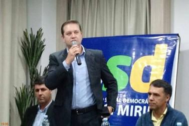 Em nota publicada em jornal, Danilo Zinetti rompe com o governo