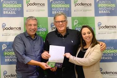 Ricardo Brandão deixa o MDB e se filia no Podemos