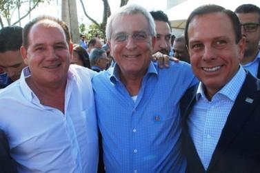 Walter Caveanha reforça pedidos ao governador Dória em visita a Araras
