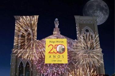 250 anos de história serão retratados na fachada da Matriz
