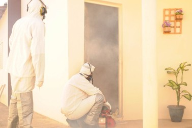 Guaçu mantém serviço de termonebulização no combate à dengue
