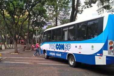 Mogi recebe ônibus itinerante do Procon