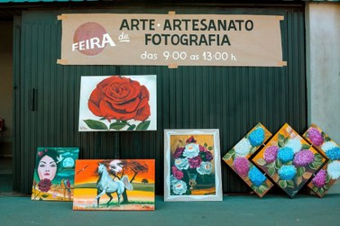 Feira de Artes, Artesanato e Fotografia é realizada na Degan