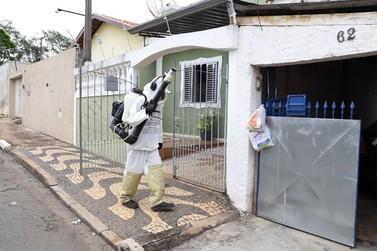 Nebulização contra a dengue é iniciada na zona Norte