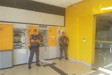 PM prende dupla tentando roubar caixas eletrônicos