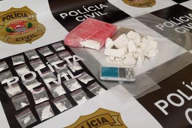 Policiais do SIG apreendem 1,5 kg de cocaína e detêm traficante