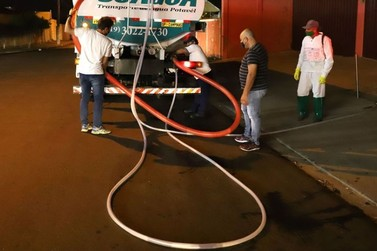 Desinfecção das ruas será feita nas Zona Sul, Oeste, Planalto e em Martim