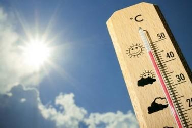 Nesta quinta-feira, termômetros deverão registrar picos entre 40 e 45 graus
