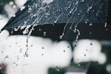 Semana terá muitas pancadas de chuva e máxima de 34ºC