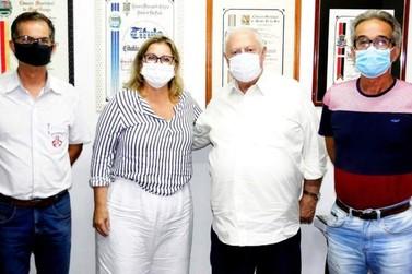 Paulo Silva se reúne com Barros Munhoz e pede apoio à Santa Casa