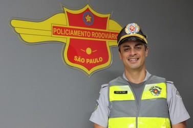 Capitão da PMR faz campanha para a doação de cadeiras de rodas