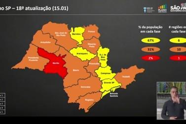 Cidades da Baixa Mogiana permanecem  na fase amarela de flexibilização