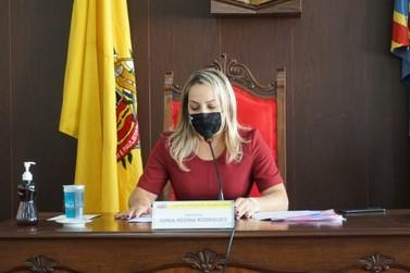 Com 12 votos, Sônia Módena é eleita presidente da Câmara