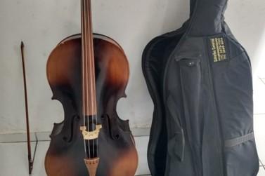 Equipe da Romu recupera violoncelo roubado no último dia 7