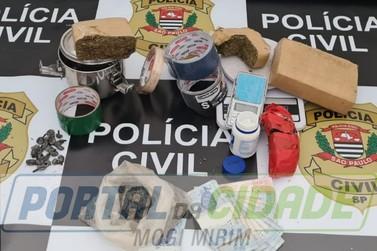 """Investigação da Polícia Civil resulta em prisão e derrubada de """"QG do tráfico"""""""
