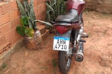 Romu e GOC apreendem menor com moto roubada de 40 gramas de maconha