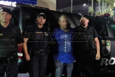 Trio pratica assalto no Centro; um é detido pela Romu