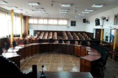 Vereadores realizam 1º sessão legislativa na noite desta segunda-feira (04)