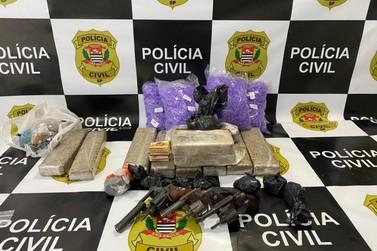Vírgula é capturado com drogas em operação do SIG e da Polícia Militar