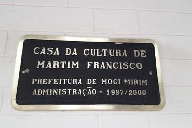 Casa da Cultura de Martim Francisco é reformada